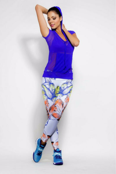 Fire Orchid Leggings