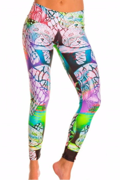 Cat's Meow Compression Leggings