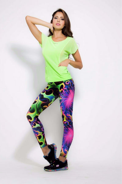 Neon Explosion Leggings