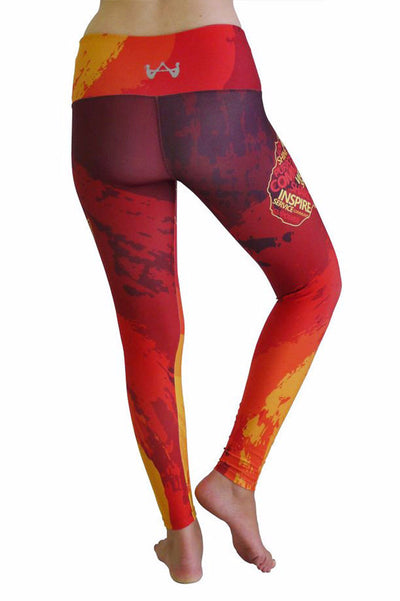 Africa Yoga Project Map Legging