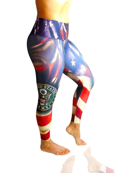 Army Compression Leggings