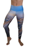 Atlantic City Beaches Compression Legging