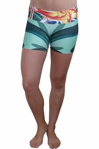 Bird of paradise Compression short