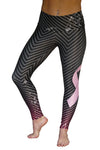 Breast Cancer Stylish Support Legging