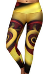 Bright Gears Compression Leggings