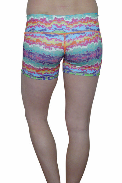 Colorful Borders Short