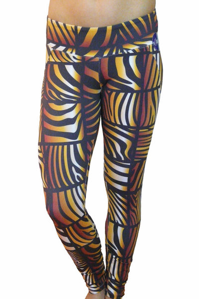 Cubic Animal Print Leggings