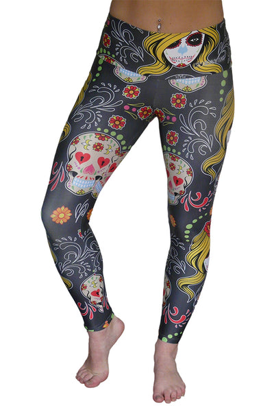 Darling Day of the Dead Leggings