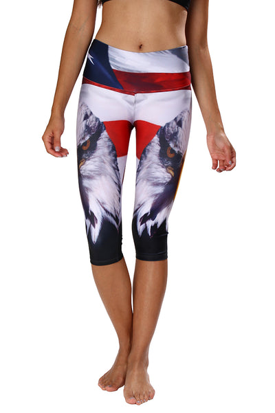 Freedom Eagle Compression Capri