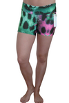 Fashionable Cheetah Compression Shorts