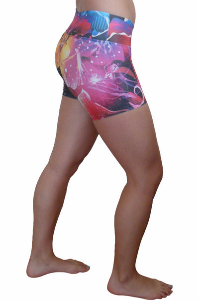 Fire Orchid Compression Short