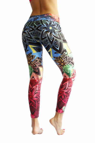 Firework Compression Leggings