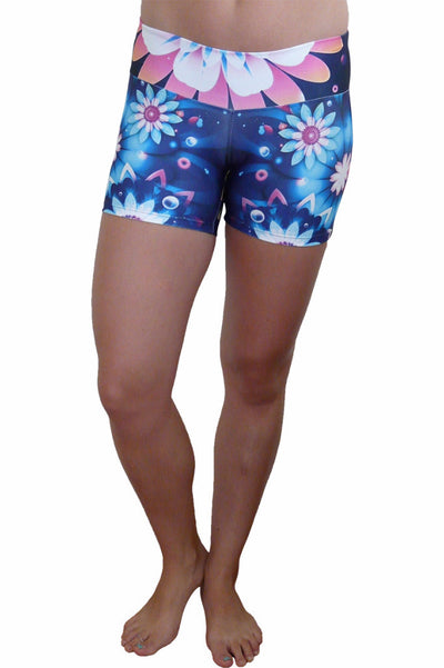 Floral Fun Compression Short