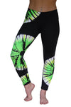 Fun in Fluorescent Tie Dye Leggings