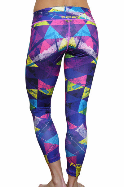 Girls Geometry Leggings