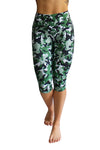 Go Green Camo Compression Capri