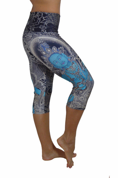 Green Tara Compression Capri