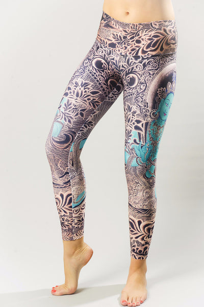 Green Tara Compression Legging