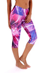 Lotus Flower Compression Capri