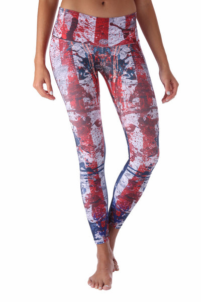 Heart of the Flag  Compression Legging