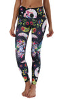 Skulls & Flowers Compression Leggings