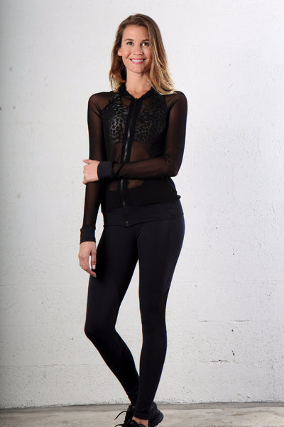 Black Emana Leggings