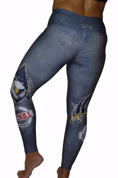 22Kill Compression Leggings