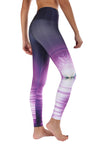 Lotus Flower Reflection Compression Legging