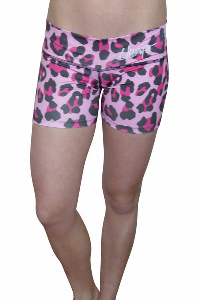 Pink Cheetah Shorts