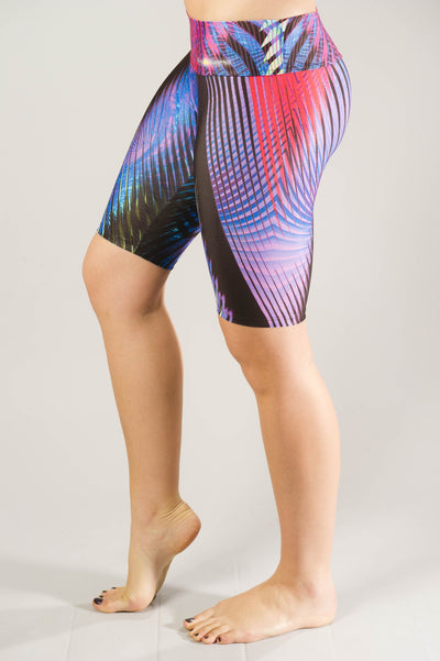 Purple Prism Bike Compression Short