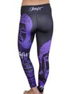Purple Buddha Leggings