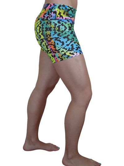 Rainbow Animal Compression Short