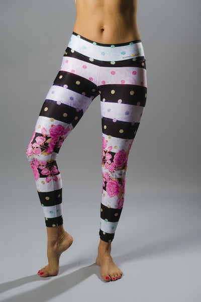Rose Garden Compression Legging