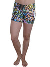 Symmetrical Animal Compression Shorts