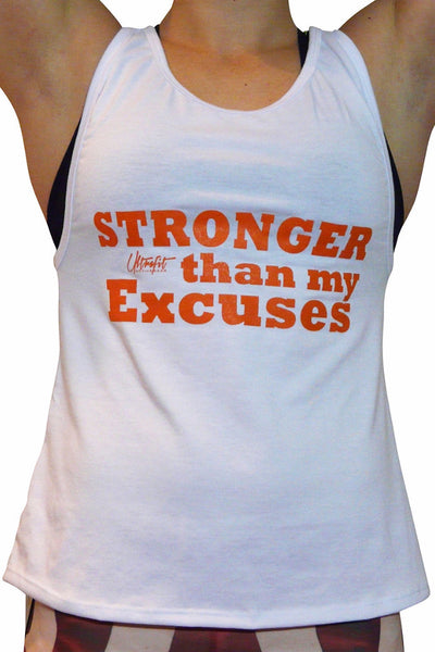 Stronger than my Excuses Tank Top