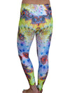 Summer Swirl Compression Leggings