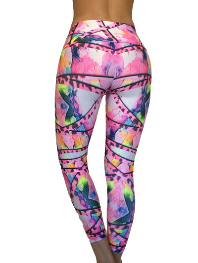 Pink Armour Compression Legging