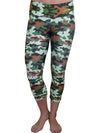 Traditional Camo Compression Capri