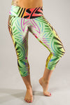 Tribal Mid-Calf Compression Capri