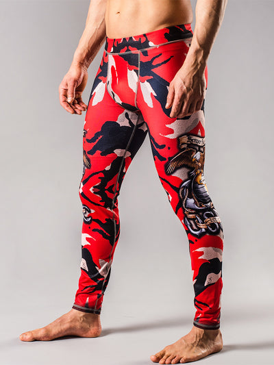 USMC Camo Mens Tights