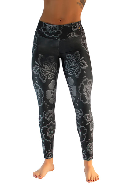 Wowza Floral Compression Leggings