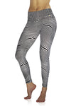 Zooming Zebra Compression Leggings
