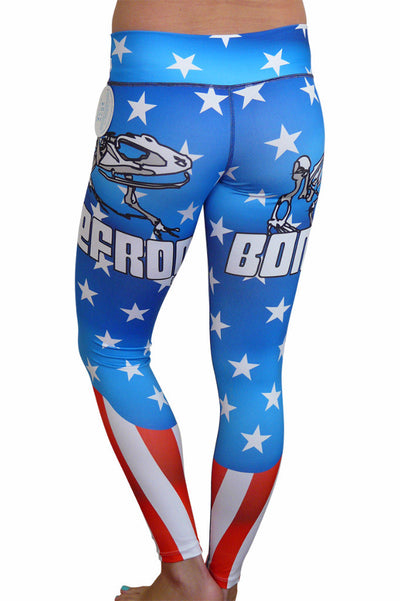 Bone Frog Leggings