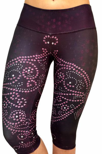 Transformational Pink Ribbon Compression Capri