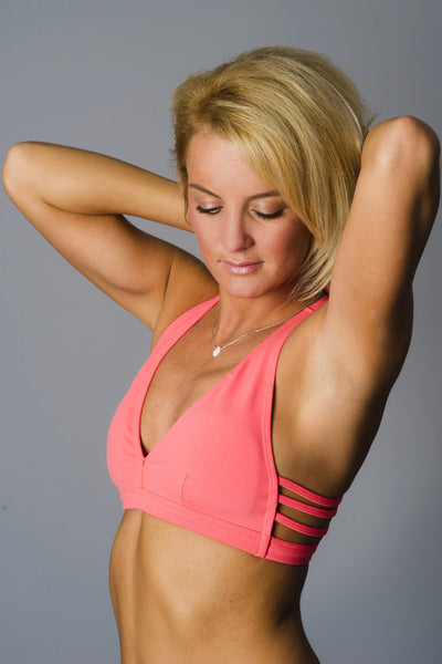 Coral All A-Bout Sports Bra