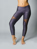Sheer Snake Skin Compression Leggings