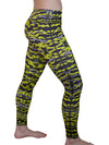 Lime Green Camo Leggings