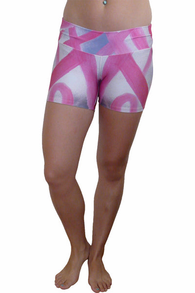 Pink on Pink Compression Shorts
