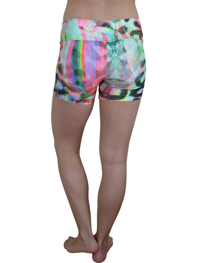Rainbow Sprite Compression Shorts