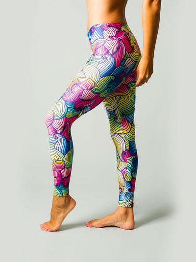 Redefining Rainbows Compression Leggings
